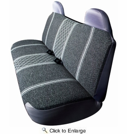 AutoLogix 67-1919GRY  Gray Diamond Back Large Bench Truck Seat Cover