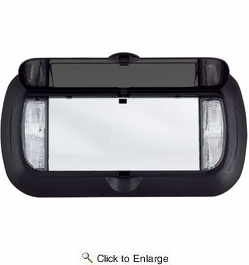 Deluxe Lighted Vanity Mirror Clip To Sun Visor : Bell Automotive 00440 Lighted Visor Vanity Mirror