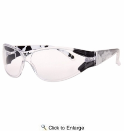 Bomber F101  A-Bomb Floating Safety Glasses Clear Lens