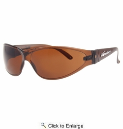 Bomber R104  X-Bomb Safety Glasses Amber Lens