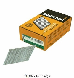 """Bostitch FN1540  2-1/2"""" 15-Gauge FN Style Angled Finish Nails - 3655 per Package"""