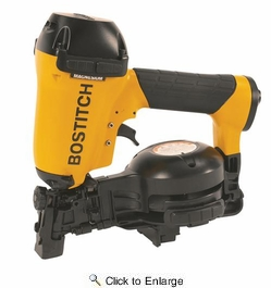 "Bostitch RN46-1  3/4"" to 1-3/4"" Coil Roofing Nailer"