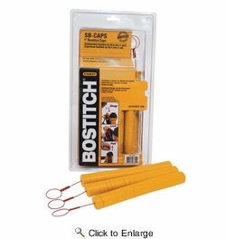 """Bostitch SB-CAPS  1"""" Caps For Bostitch Cap Stapler and Nailer - 1000 per Package"""