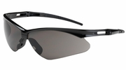 Bouton Safety Glasses 250-AN-10112  Anser - Gray Anti-Scratch Lens With Black Frames