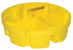 Bucket Boss 15051  Bucket Stacker System Parts Tray - Small Yellow