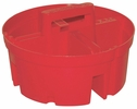 Bucket Boss 15054  Super Bucket Stacker System Parts Tray - Large Red