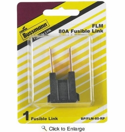 Bussmann BP/FLM-80-RP  Male Termination 80 Amp Fusible Link