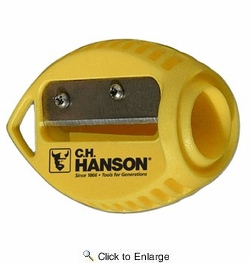 C.H. Hanson 00202  VersaSharp Carpenter Pencil Sharpener