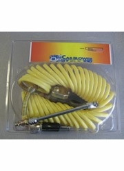Cab Blower 20050  50' Advanced Heavy Duty Air Hose System with Quick Connect Coupler