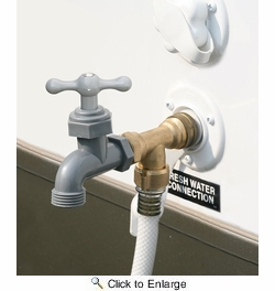 Camco 22463  Water Faucet 90 Degree