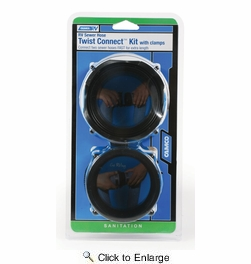 Camco 39543  RV Sewer Hose Twist Connect Kit