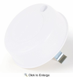Camco 40034  Replace All Plumbing Vent Cap Only,  Polar White