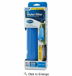 Camco 40043  TastePURE RV Water Filter (Kdf) With Flexible Hose Protector, LLC