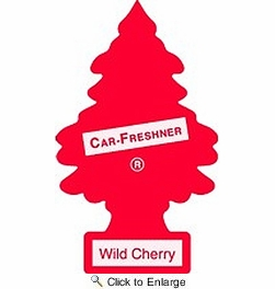 Car Freshner 32011  Little Trees Air Freshener Wild Cherry Scent - 3 Trees per Package