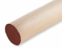 "Cindoco R7848  7/8"" x 48"" Hardwood Dowel Color Coded Brown"