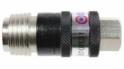 """Coilhose Pneumatics 150USE  5-in-1 Automatic Safety Exhaust Universal Coupler - 1/4"""" Body Size x 1/4"""" Female NPT"""