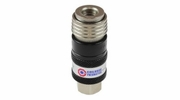 """Coilhose Pneumatics 151USE  5-in-1 Automatic Safety Exhaust Coupler 1/4"""" Body, 3/8"""" FPT"""