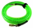 "Coilhose Pneumatics PFX4100GS15XS  Flexeel Max Hose, 1/4"" x 100', Industrial Interchange, Green"