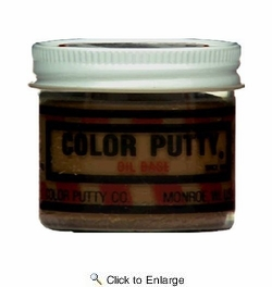 Color Putty 110  3.68oz Oil Based Wood Filler Putty - Fruitwood