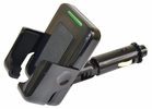 Custom Accessories 10904 Phone Holder and Charger - 12V with USB Plug-in