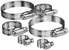 Custom Accessories 6 Piece 3 Assorted Sizes Hose Clamps (29038)