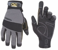 Custom Leathercraft 125M  Handyman Hi-Dexterity Flex Grip Gloves - Medium