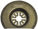 "EazyPower 50645  2-9/16"" (65mm) Multi-Tool Carbide Grit Radial Tile/Plaster/Porous Concrete Saw Blade"