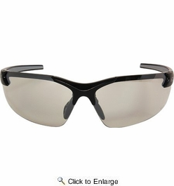 Edge Eyewear DZ111-2.5-G2  Zorge G2 Safety Glasses Black Frames 2.5 Magnifier Clear Lens