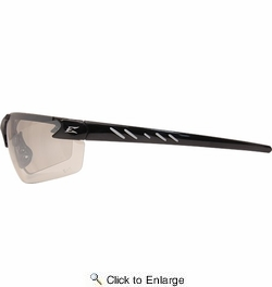 Edge Eyewear  DZ111-G2  Zorge G2 Safety Glasses Black Frame Non-Polarized Clear Lens