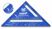 """Empire Level  E2994  7"""" True Blue Laser Etched Rafter Square"""