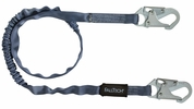 FallTech 8259  6' Shock Absorbing Lanyard with 2 Snap Hooks