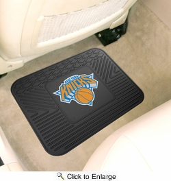 "Fan Mats 10010  NBA - New York Knicks 14"" x 17"" Vinyl Utility Mat (1 each)"