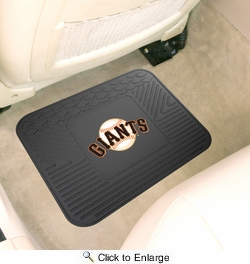 "Fan Mats 10035  MLB - San Francisco Giants 14"" x 17"" Vinyl Utility Mat (1 each)"