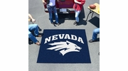 Fan Mats 1004  UNR - University of Nevada, Reno Wolf Pack 5' x 6' Tailgater Mat / Area Rug