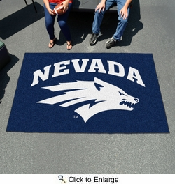 Fan Mats 1005  UNR - University of Nevada, Reno Wolf Pack 5' x 8' Ulti-Mat Area Rug / Mat