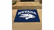 "Fan Mats 1006  UNR - University of Nevada, Reno Wolf Pack 33.75"" x 42.5"" All-Star Series Area Rug / Mat"