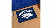 "Fan Mats 1007  UNR - University of Nevada, Reno Wolf Pack 19"" x 30"" Starter Series Area Rug / Mat"