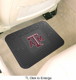 "Fan Mats 10081  Texas A&M University Aggies 14"" x 17"" Vinyl Utility Mat (1 each)"