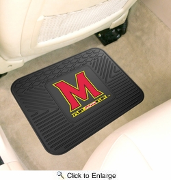 "Fan Mats 10084  UM - University of Maryland Terrapins 14"" x 17"" Vinyl Utility Mat (1 each)"