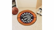 "Fan Mats 10194  NBA - Toronto Raptors 27"" Diameter Basketball Shaped Area Rug"