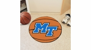 "Fan Mats 102  MTSU - Middle Tennessee State University Blue Raiders 27"" Diameter Basketball Shaped Area Rug"