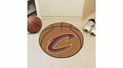 "Fan Mats 10217  NBA - Cleveland Cavaliers 27"" Diameter Basketball Shaped Area Rug"