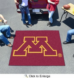 Fan Mats 1022  University of Minnesota Golden Gophers 5' x 6' Tailgater Mat / Area Rug