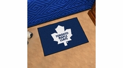 "Fan Mats 10282  NHL - Toronto Maple Leafs 19"" x 30"" Starter Series Area Rug / Mat"