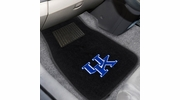 Fan Mats 10300  University of Kentucky Wildcats 2-pc Embroidered Car Mat Set