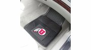 "Fan Mats 10309  University of Utah Utes 17"" x 27"" Heavy Duty Vinyl Car Mat Set"