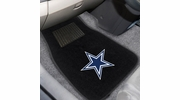 Fan Mats 10316  NFL - Dallas Cowboys 2-pc Embroidered Car Mat Set