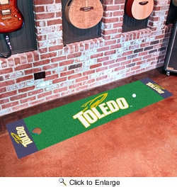 "Fan Mats 10325  UT - University of Toledo Rockets 18"" x 72"" Putting Green Mat"