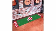 "Fan Mats 10333  University of Utah Utes 18"" x 72"" Putting Green Mat"