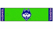 "Fan Mats 10334  UConn - University of Connecticut Huskies 18"" x 72"" Putting Green Mat"